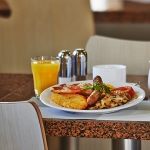 Hotel Breakfast at Zeina's Cafe
