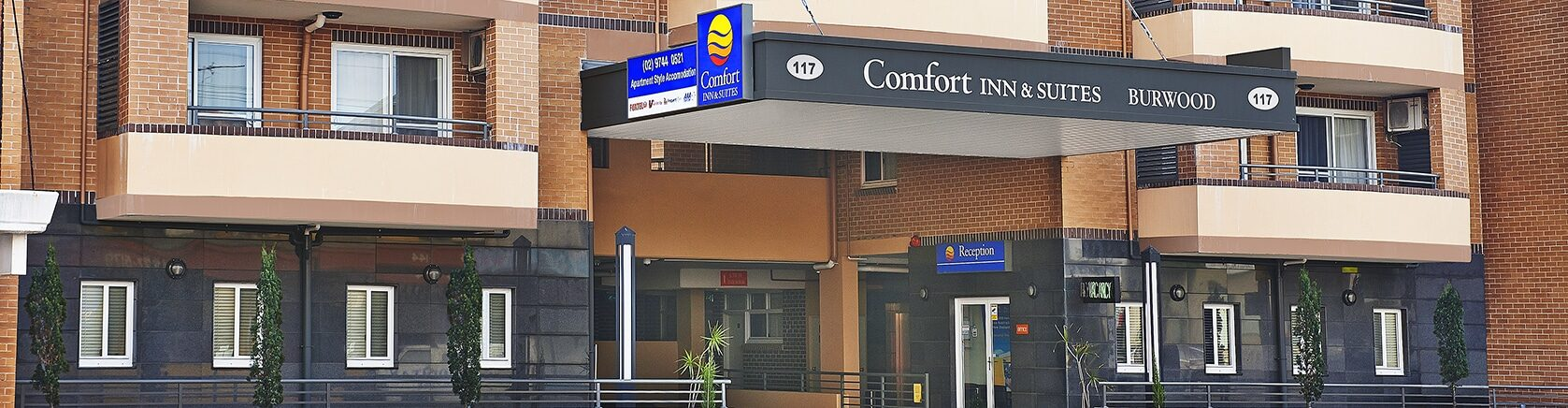 Comfort Inn and Suites Burwood - Entrance