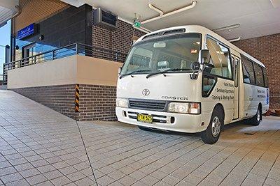 Burwood Motel Courtesy Bus