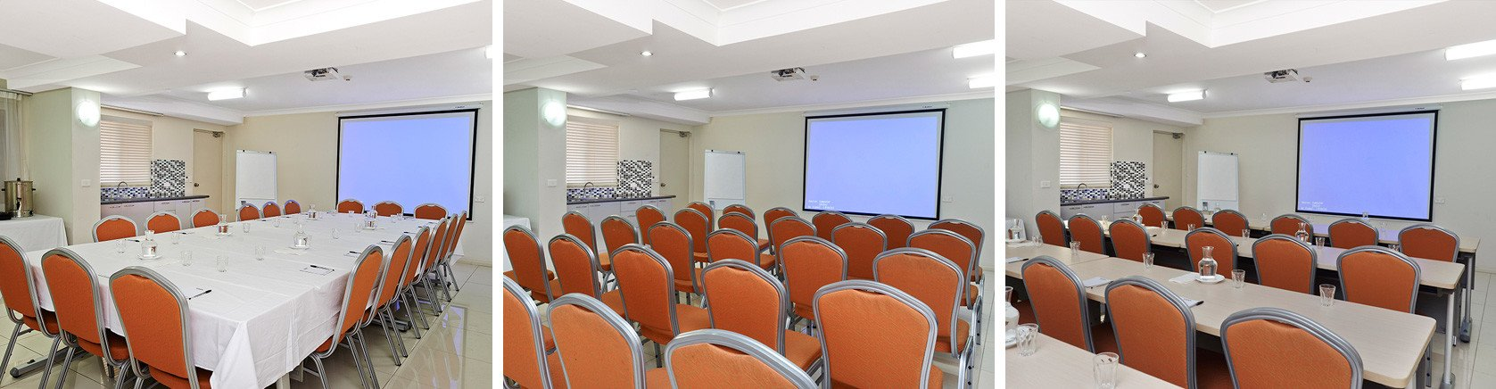 Conference Room with projector and screen