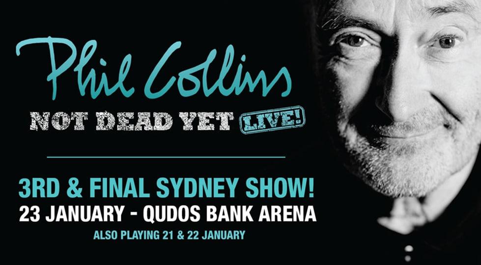 Phil Collins live in concert