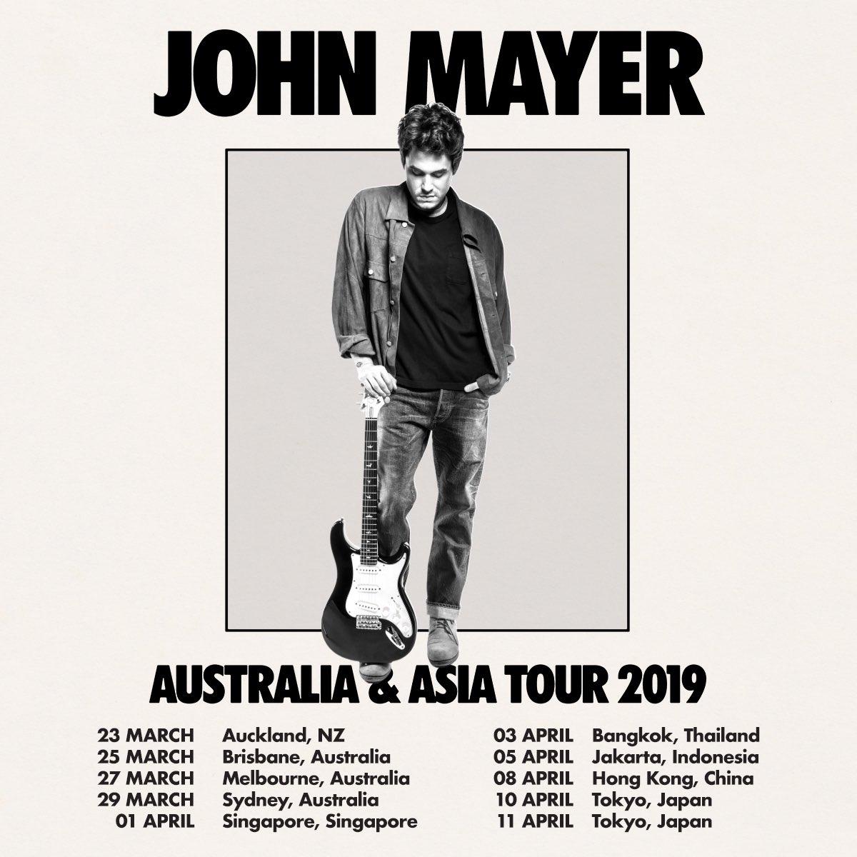 John Mayer live 2019