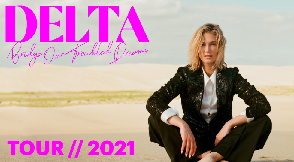 Delta Goodrem 2021 Tour Sydney