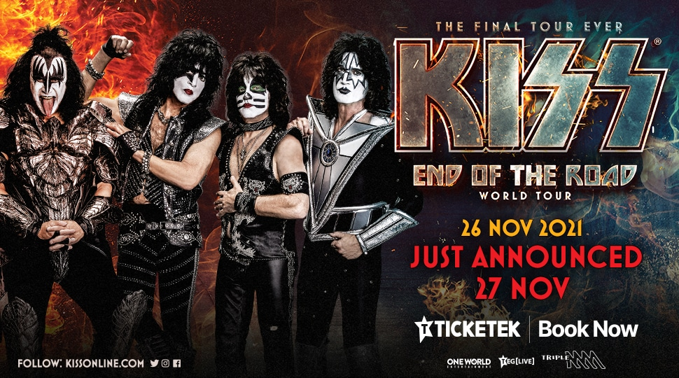 KISS show sydney 2021
